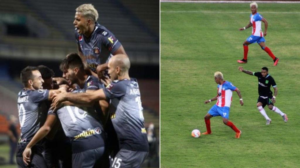 Caracas FC y Estudiantes de Mérida consiguieron sendos triunfos en Copas Libertadores.