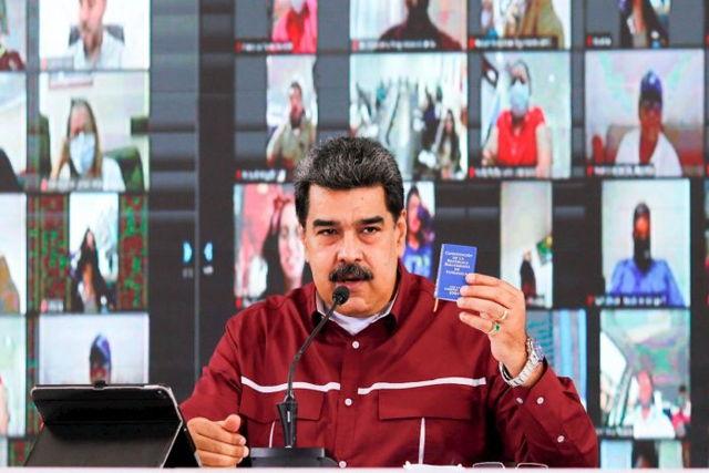 "Maduro anuncia ""ley antibloqueo"""