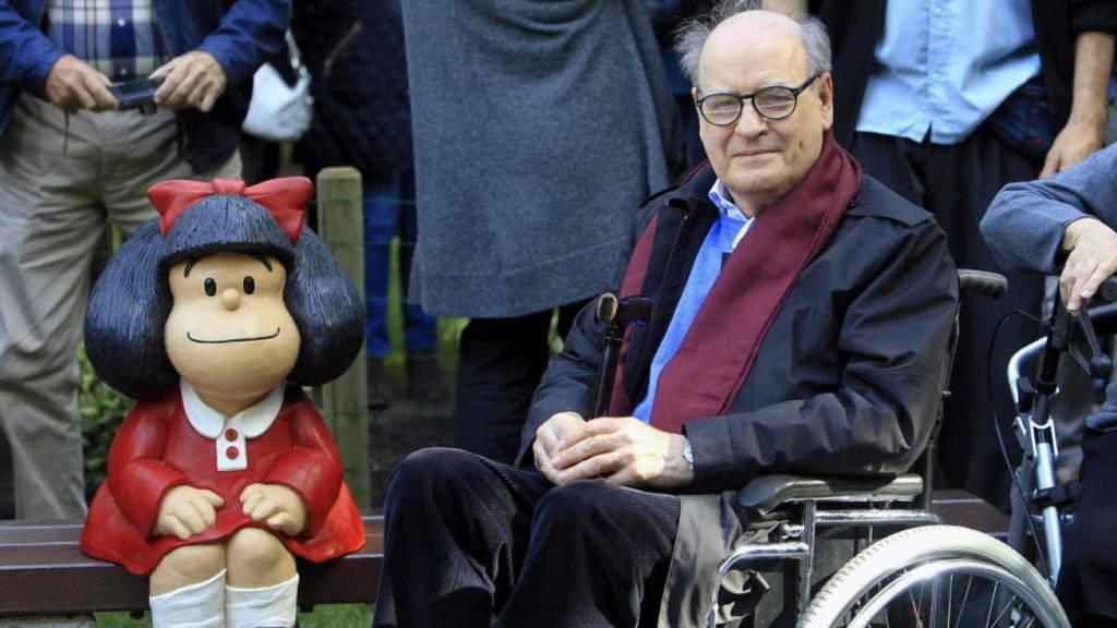 Falleció Quino el creador de Mafalda