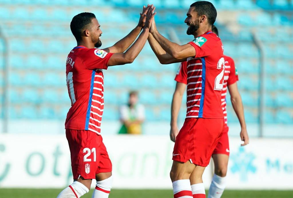 Yangel Herrera concretó la goleada del Granada ante el Teuta