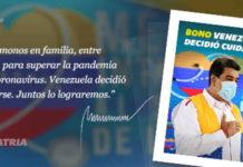 Bono Venezuela Decidió Cuidarse