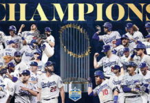 Dodgers de Los Ángeles campeones de la Serie Mundial