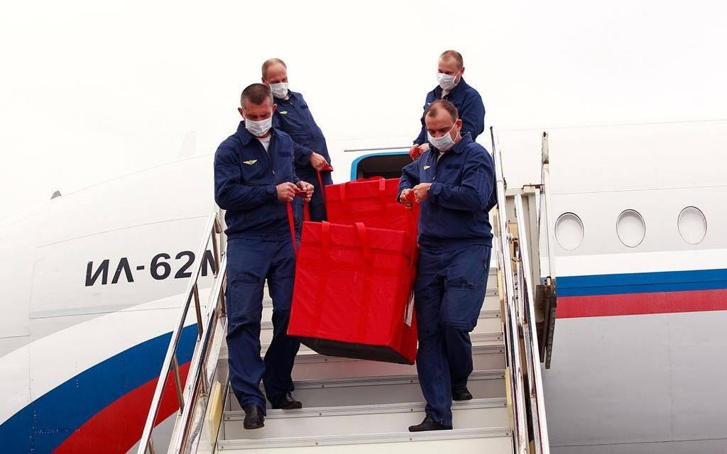 Vacuna rusa llegó a Venezuela