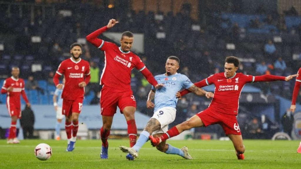 Liverpool empató con el Manchester City.