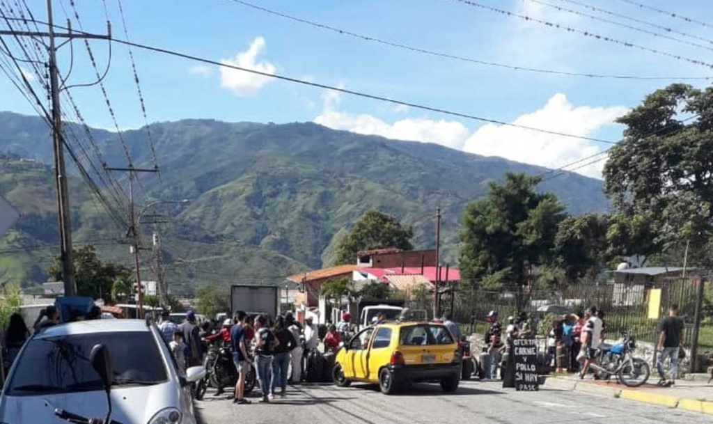 Protestas por escasez de gas doméstico