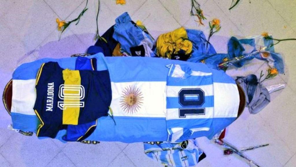 Velatorio de Maradona