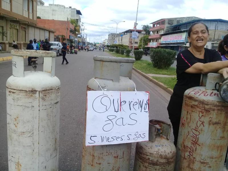 valle de la pascua protesta gas
