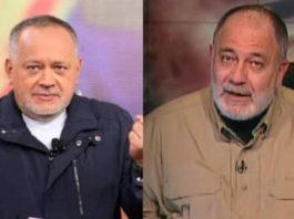 Diosdado Cabello y Mario Silva