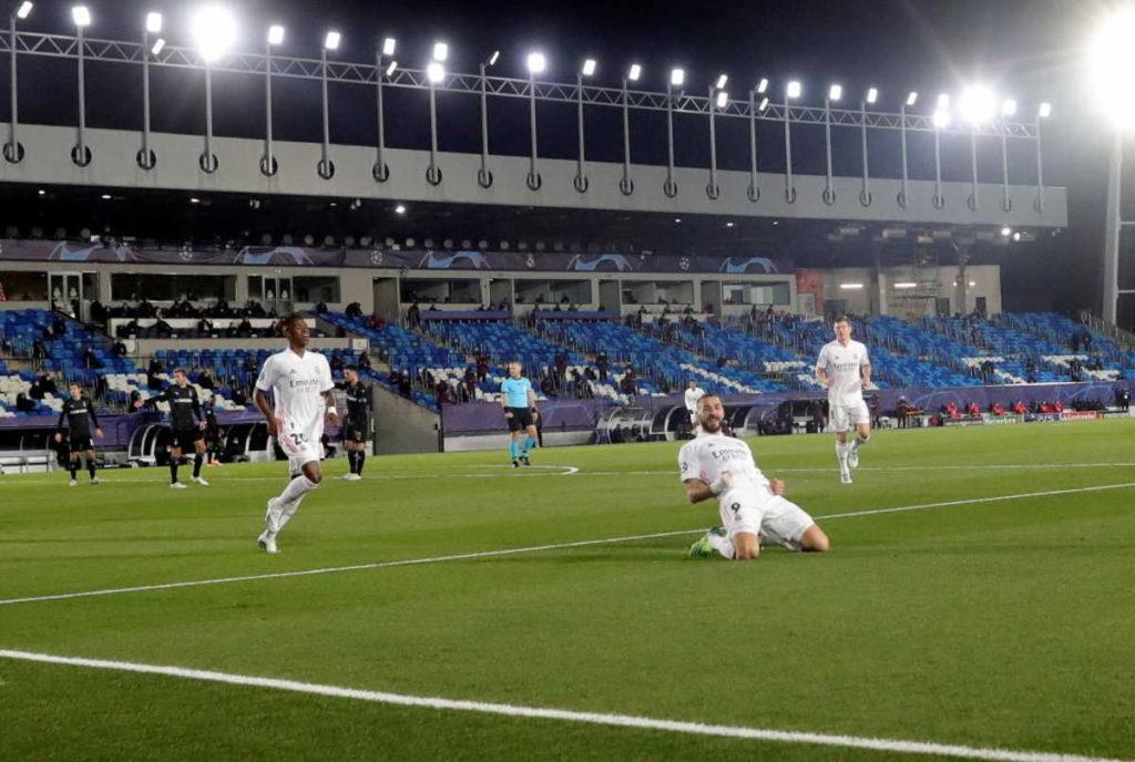 Resultados de la Champions, Real Madrid.