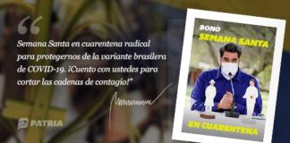 Bono Semana Santa en Cuarentena