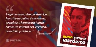 Bono Tiempo Histórico