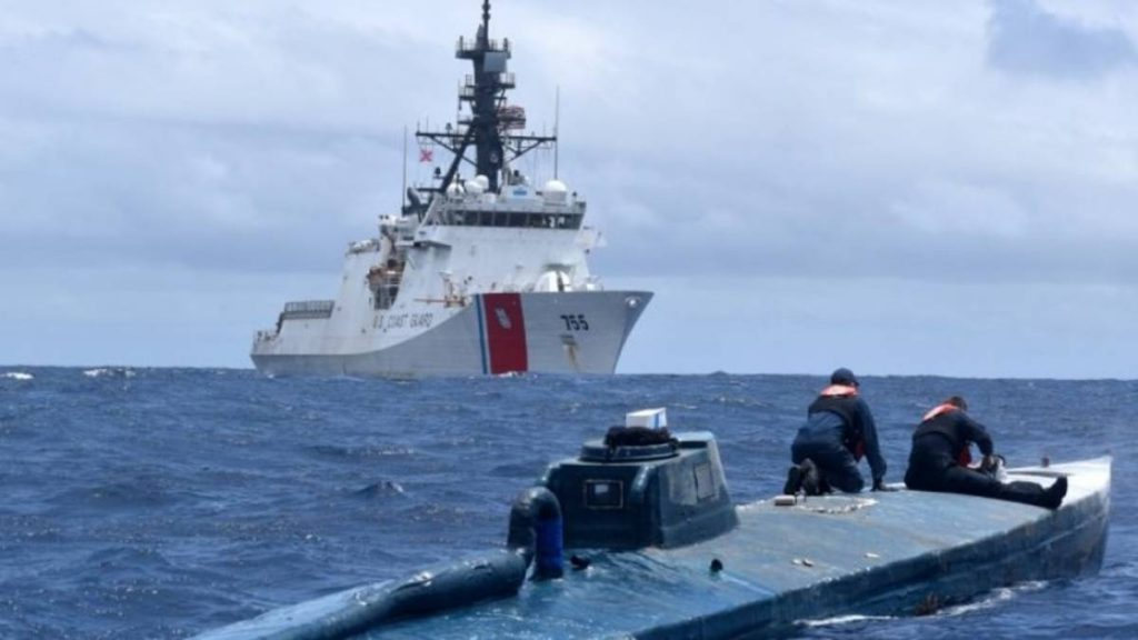 EEUU decomisa más de $140 millones en cocaína en operaciones marítimas