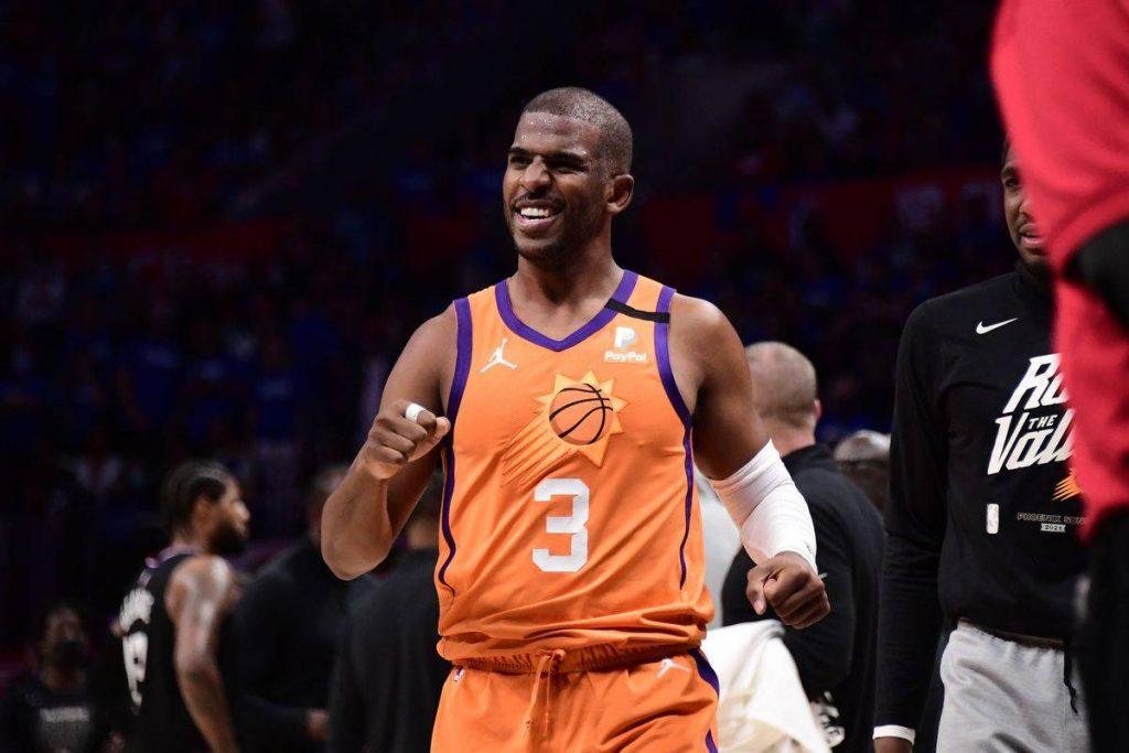 Chris Paul de los Phoenix Suns