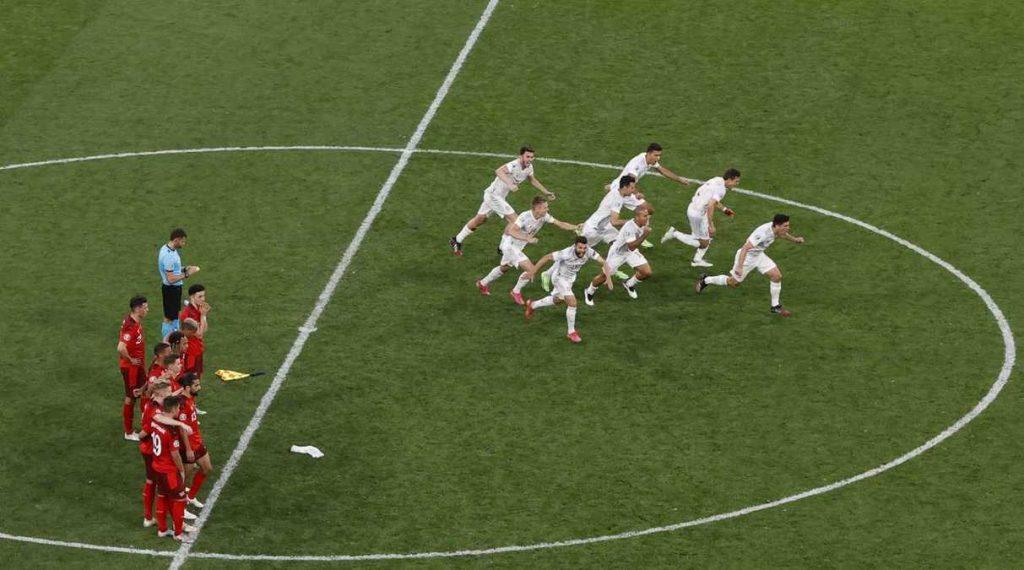 España eliminó a Suiza en cuartos de final de la Eurocopa 2020