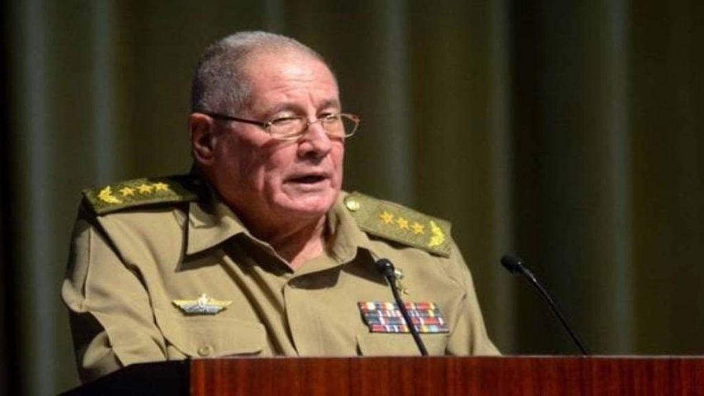 Estados Unidos sancionó al ministro de Fuerzas Armadas de Cuba