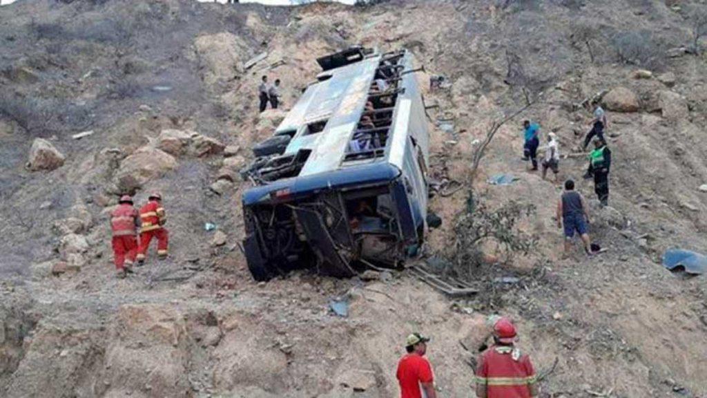 Accidente en Perú