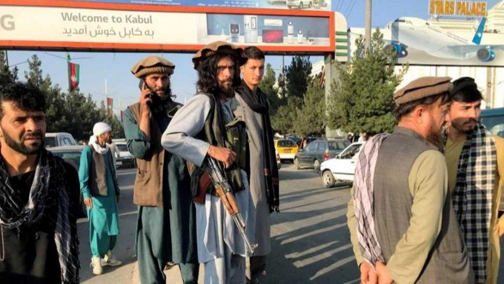 Inmediaciones del aeropuerto de Kabul