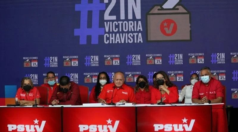 candidatos chavistas