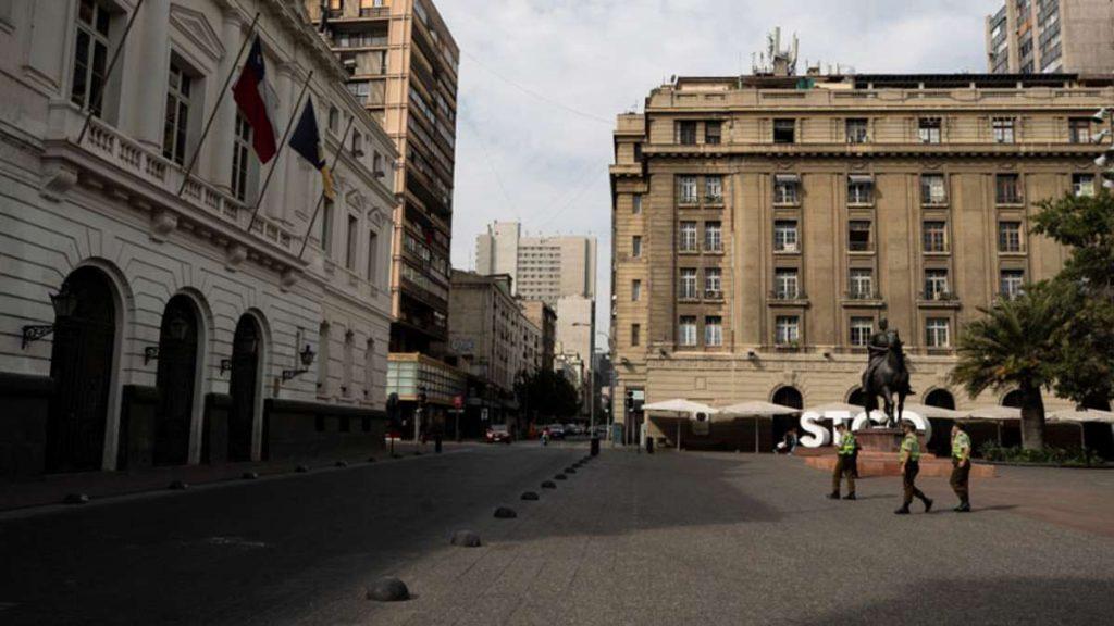 Casos de la variante delta en Chile