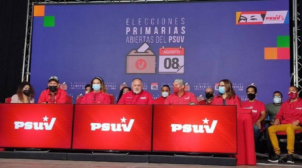Aquí los primeros ganadores en las elecciones primarias del Psuv