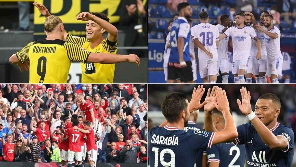Mejores ligas de fútbol de Europa