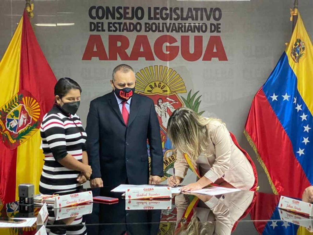 Juramentación de la nueva Gobernadora del estado Aragua