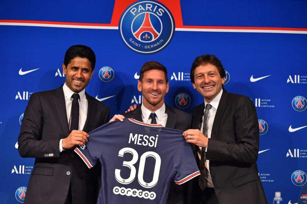 El PSG presentó a Lionel Messi como su nuevo jugador