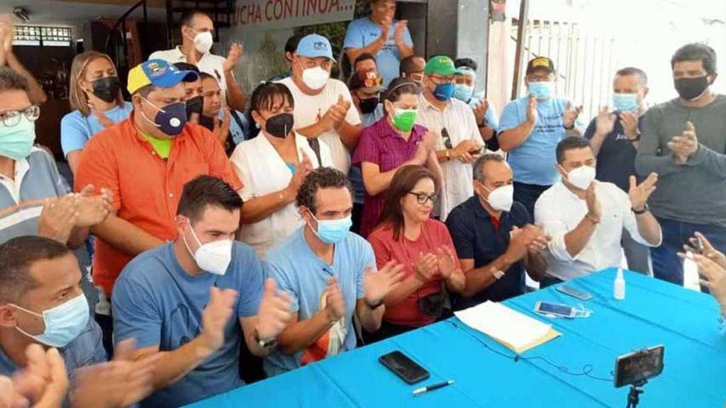 Anuncian candidatos municipales de la Unidad en Aragua