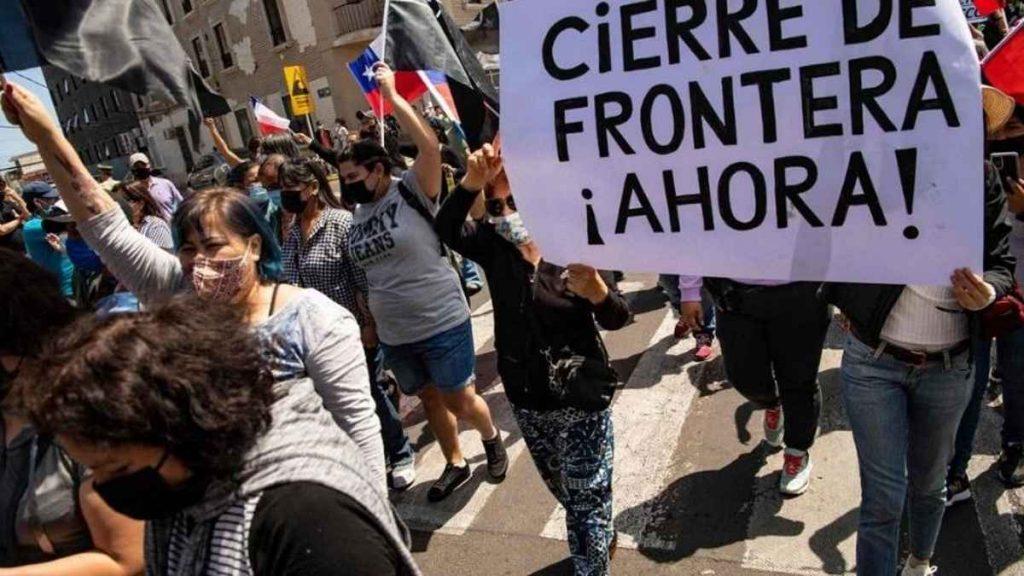 """La ONU calificó como una """"inadmisible humillación"""" el ataque a migrantes en Chile"""