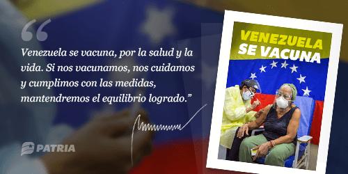 Venezuela se vacuna