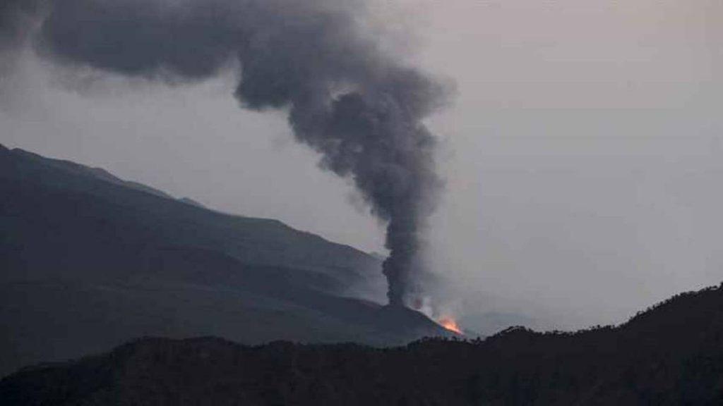 Nube de dióxido de azufre del volcán La Palma llega a Venezuela
